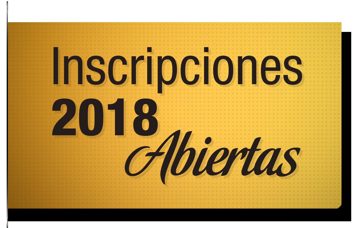 inscripciones 2018 abiertas